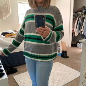 Urban Outfitters Oversized Striped Sweater